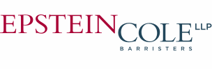 The logo for Epstein Cole LLP