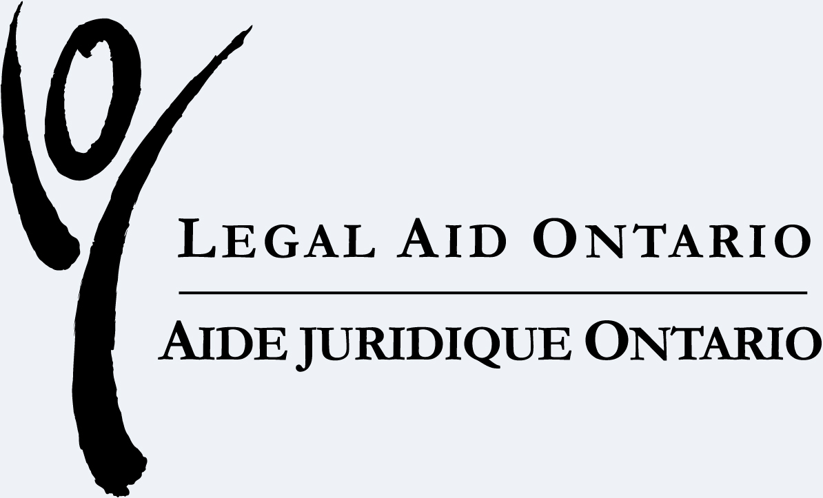The logo for Legal Aid Ontario