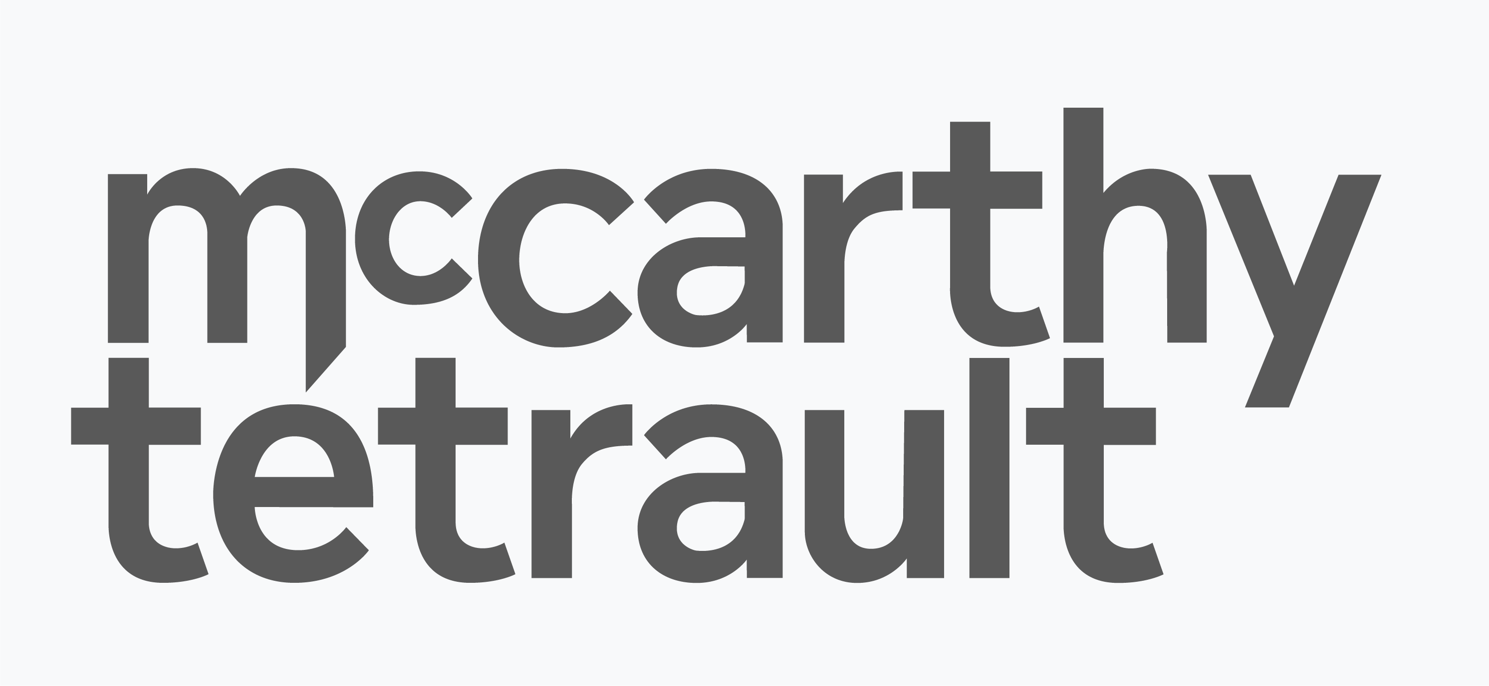 The logo for McCarthy Tetrault