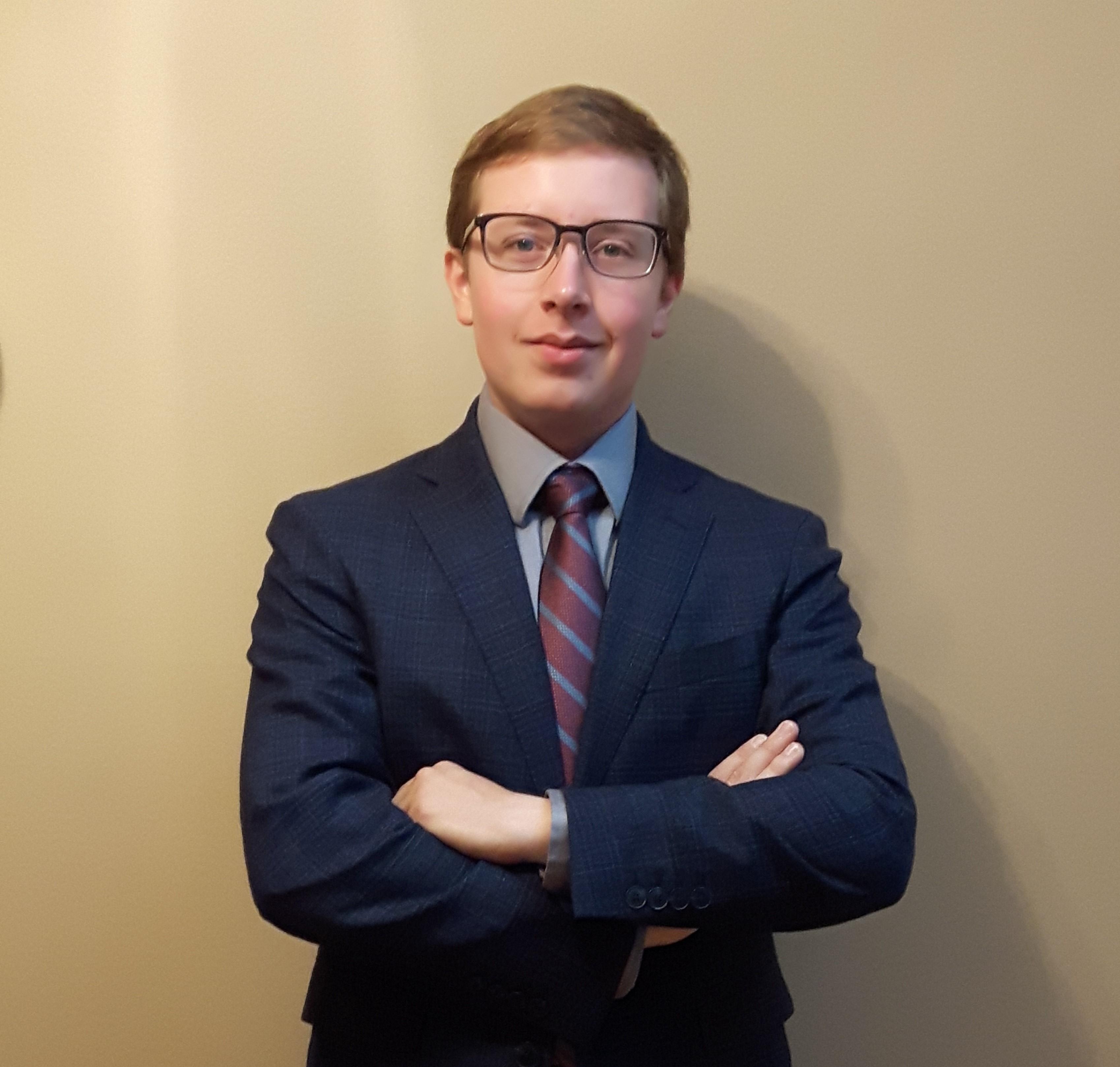 Wills Coordinator Thomas Benstead