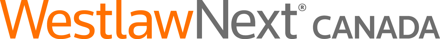 The logo for WestlawNext Canada