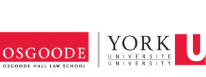 The logo for Osgoode Hall Law School at York University